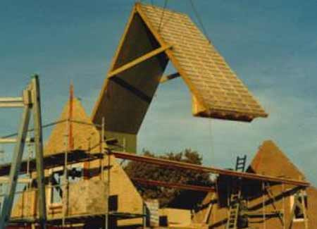 Authentieke-nieuwbouw-woning-Noordwijk-prefab-dak
