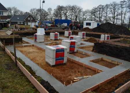 Nieuwbouw-Lege-Kamp-fundering op staal