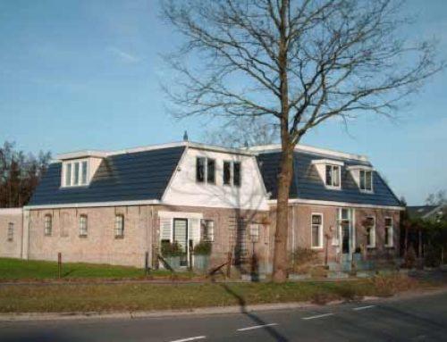 Prefab dak bestaande woning te Ureterp